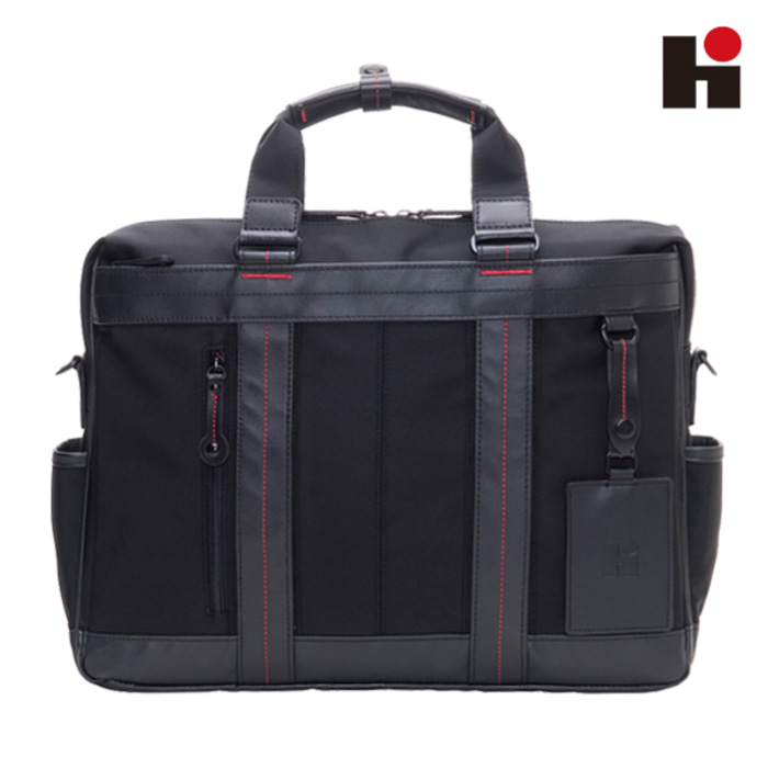 [히데오와카마츠 공식] HD FIELD II 2WAY NYLON WITH LEATHER BUSINESS BAG [M]